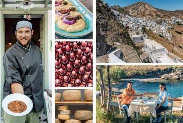 Σέριφος: Υπόγεια τυριά, ιδιαίτερα κρασιά