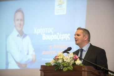 Χρήστος Βουραζέρης : ''Ένα μεγάλο ευχαριστώ στους πολίτες της Άνδρου για τη στήριξη και την αγάπη τους''