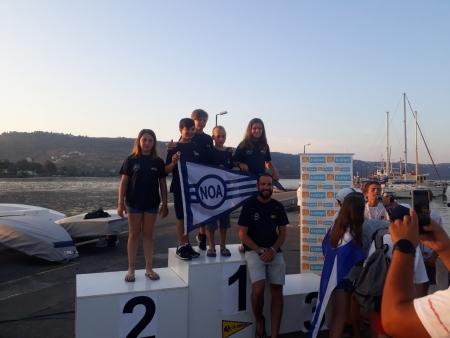Εξαιρετική η εμφάνιση των αθλητών του ΝΟΑ στο Πανελλήνιο Πρωτάθλημα Optimist 2019