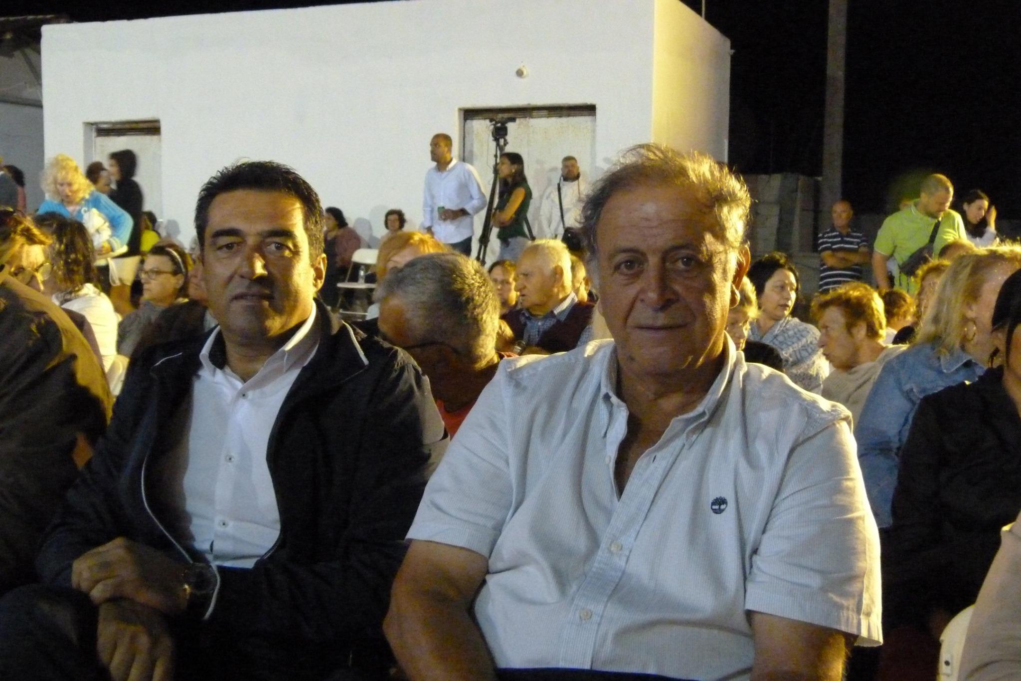 Παύλος Σατολιάς Γιώργος Γκούφας κεντρική εκδήλωση