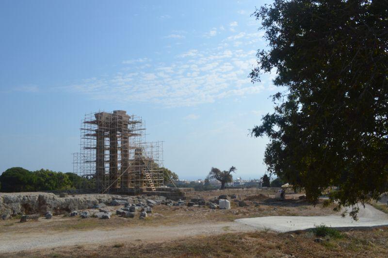 αρχαία ακρόπολη Ρόδου