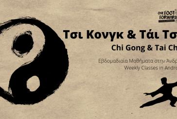 Ξεκινούν τα μαθήματα Τάι Τσι & Τσι Κονγκ στην Άνδρο