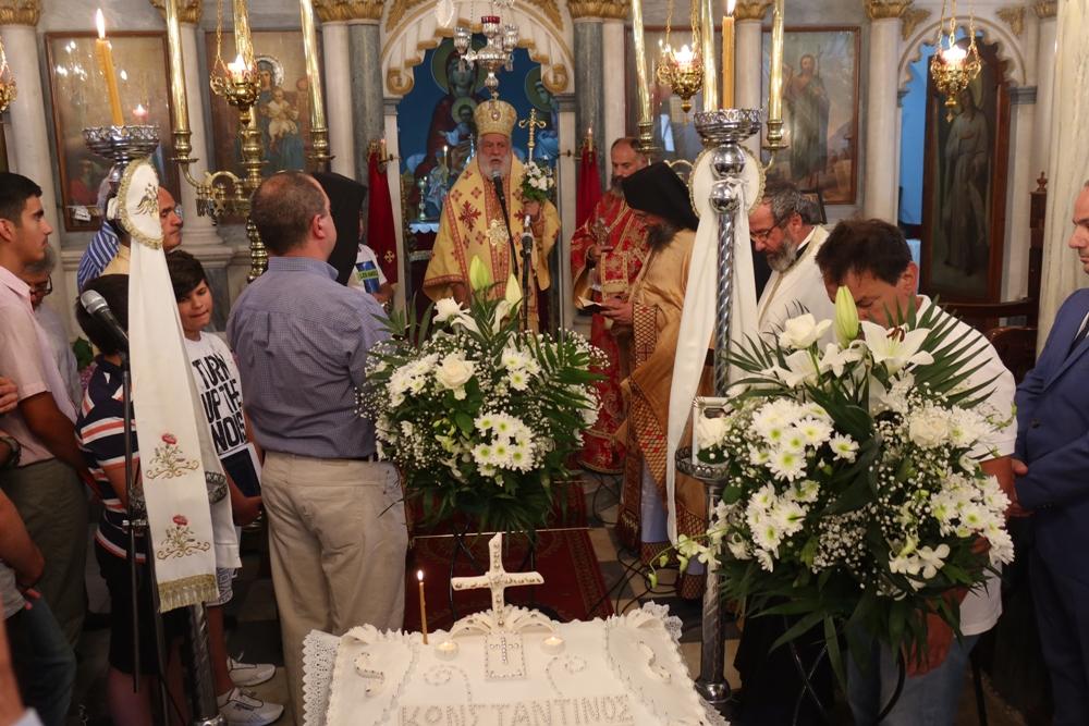 Στον Ενοριακό Ι.Ν. Μεταμορφώσεως Λαμύρων Ιερούργησε σήμερα ο Σεβασμιώτατος Μητροπολίτης κ. Δωρόθεος Β΄