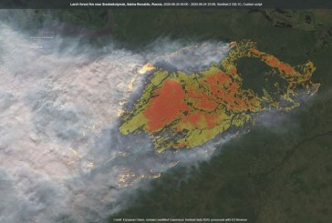 «Καμπανάκι» για κλιματική αλλαγή: Πυρκαγιά για πρώτη φορά στον πολικό κύκλο της Σιβηρίας