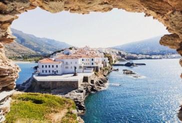 Η Άνδρος στην κορυφή της λίστας των Sunday Times με τα 25 μυστικά νησιά της Ευρώπης χωρίς συνωστισμό για φέτος!