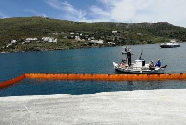 ΤοΤμήμα ΠεριβάλλοντοςτηςΛέσχης Ανδρίων υποστηρίζει έμπρακτα τη δράση του Λιμεναρχείου για τη θαλάσσια ρύπανση