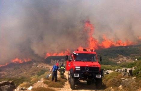 Έκτακτη συνεδρίαση στο ΣΟΠΠ Π.Ε. Κυκλάδων λόγω πολύ υψηλού κινδύνου πυρκαγιάς σήμερα