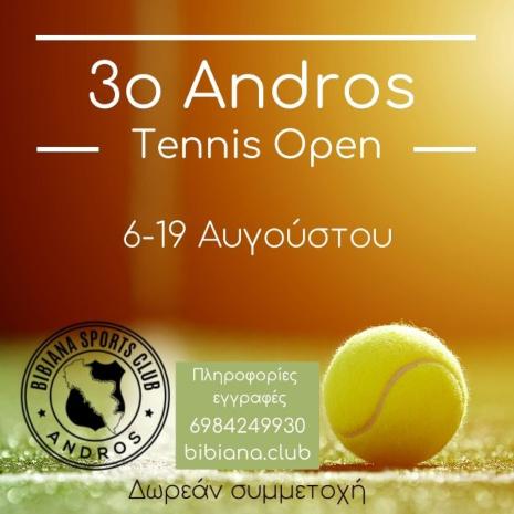 Andros Tennis Open 2020