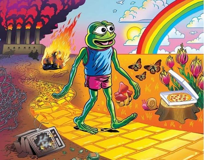 O Pepe the Frog προσπαθεί να σωθεί από τους φασίστες