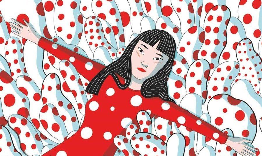 Μία νέα πολύχρωμη βιογραφία – κόμικς μας αφηγείται τη ζωή της Yayoi Kusama