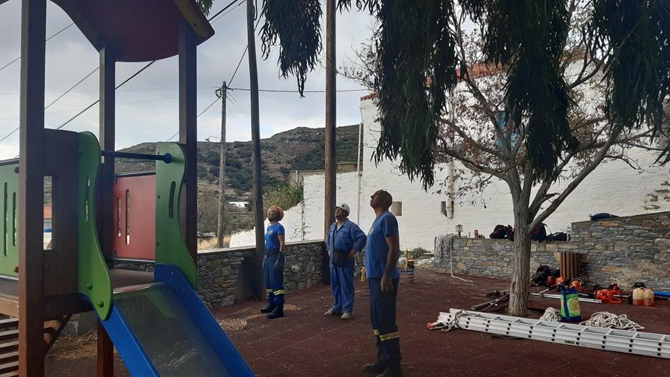 Σαββατοκύριακο με δύο δράσεις για το Σύλλογο Εθελοντών Δασοπυροσβεστών Άνδρου