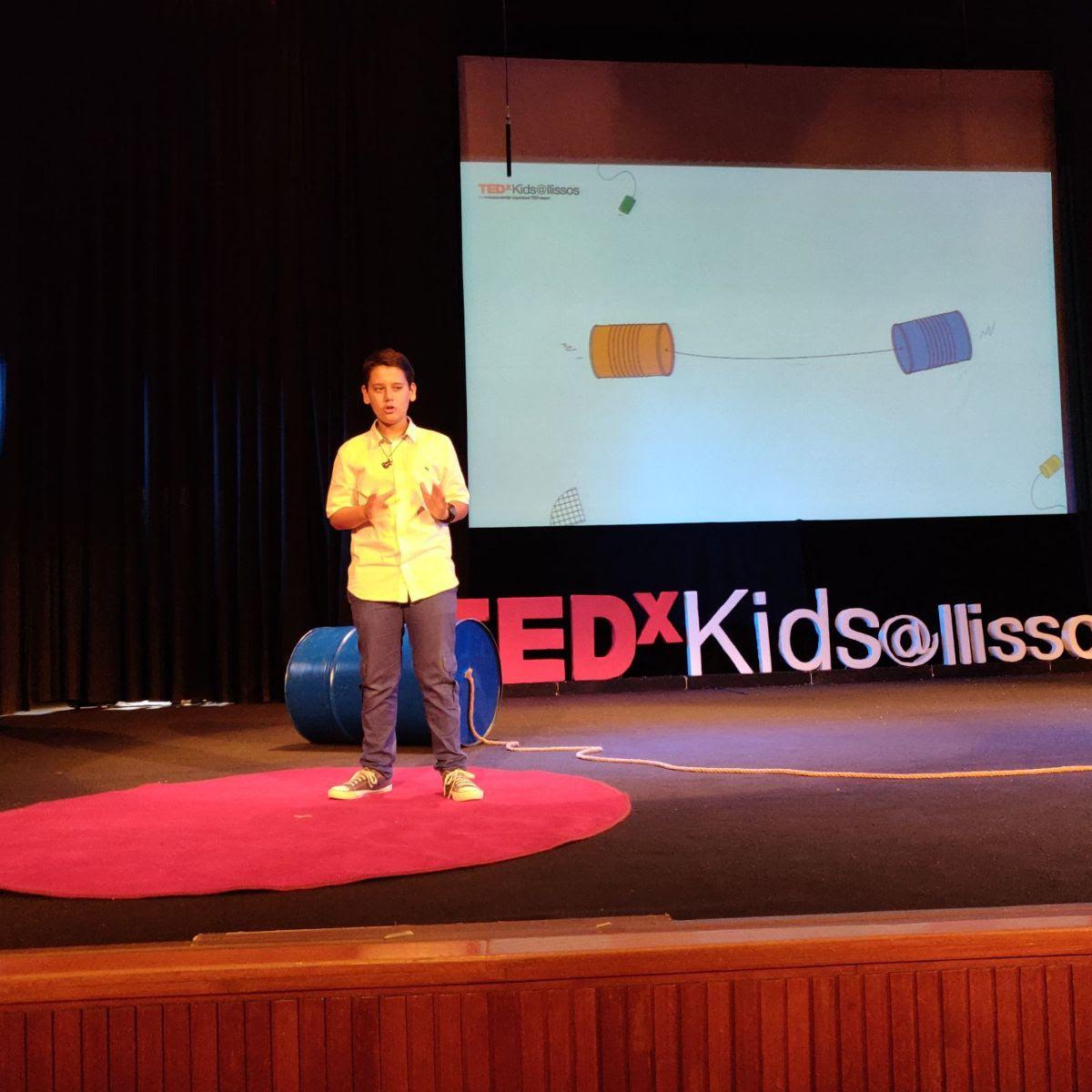 Πρεμιέρα: TEDxKids@Ilissos 2020 με τη συμμετοχή μαθητή ρητορικής της «Λέσχης Ανδρίων»