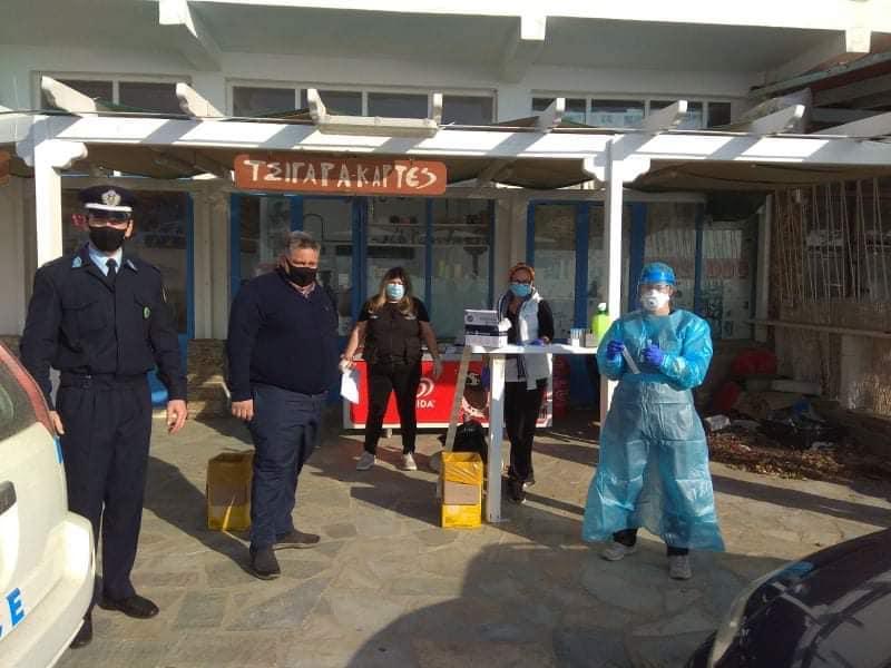 Δήμος Άνδρου: Αρνητικά τα rapid test στο Μπατσί – Στη Χώρα κλιμάκιο του ΕΟΔΥ την Τετάρτη