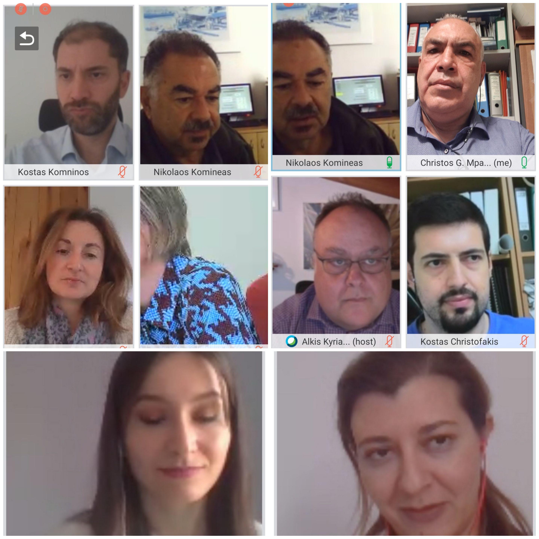 Πέμπτη Συνάντηση των Τοπικών Ενδιαφερόμενων Μερών του έργου RECREATE