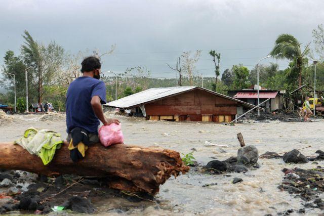 Φιλιππίνες: Τουλάχιστον 4 νεκροί από τον τυφώνα Γκόνι, τον ισχυρότερο για το 2020