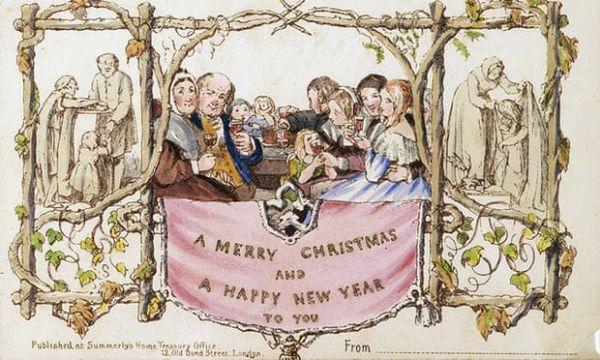 Σε δημοπρασία η πρώτη χριστουγεννιάτικη κάρτα όλων των εποχών