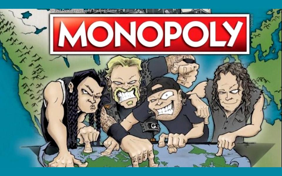 Η νέα Monopoly των Metallica, World Tour