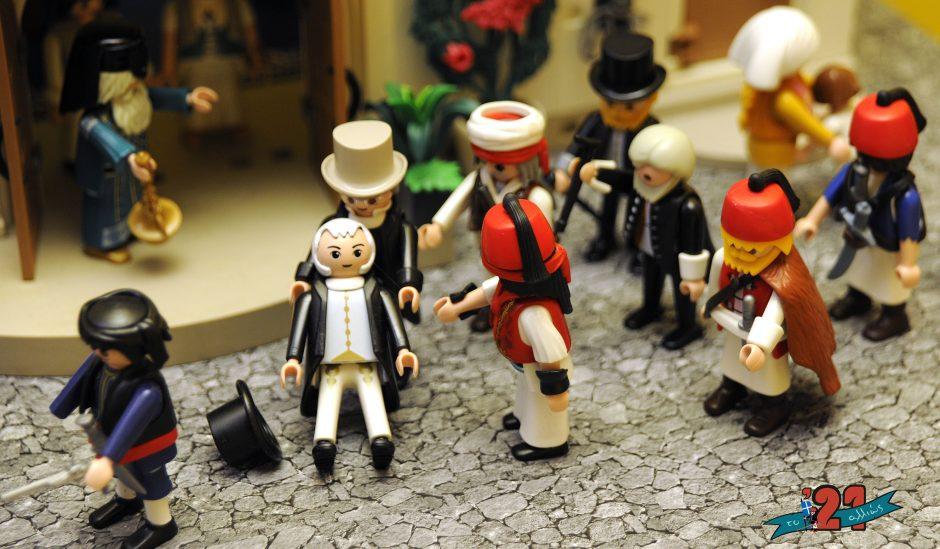 Περιηγούμαστε ψηφιακά στην έκθεση «Το '21 αλλιώς – Η Ελληνική Επανάσταση με φιγούρες Playmobil»
