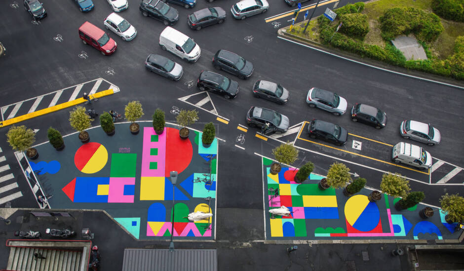 Piazze Aperte: Ζωγραφική δρόμου στο Μιλάνο