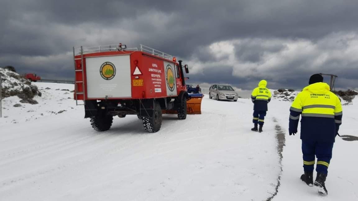 Δήμος Άνδρου: Προσοχή στην ολισθηρότητα του δρόμου στις περιοχές Άρνης – Βουρκωτής