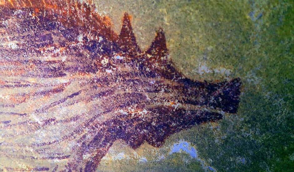 Αρχαιολόγοι ανακάλυψαν σε νησί της Ινδονησίας την αρχαιότερη ζωγραφιά ζώου