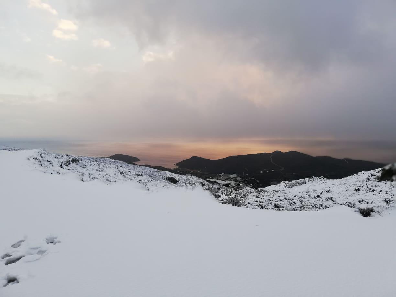 Κακοκαιρία «Λέανδρος»: Το meteo προβλέπει χιονόνερο – χιονόπτωση στην Άνδρο τη Δευτέρα