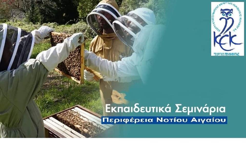Σεμινάρια Μελισσοκομίας από το ΚΕΚ Γεννηματάς της Περιφέρειας Ν. Αιγαίου