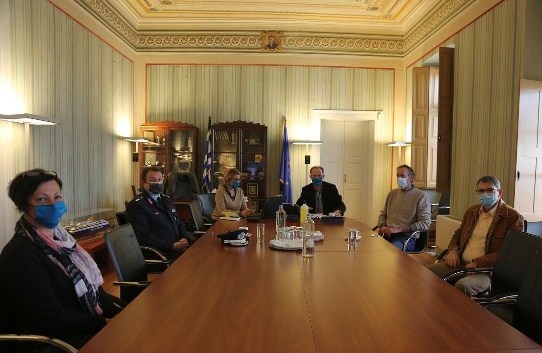 Επίσκεψη του νέου Γενικού Περιφερειακού Αστυνομικού Διευθυντή Νοτίου Αιγαίου στο Επιμελητήριο Κυκλάδων