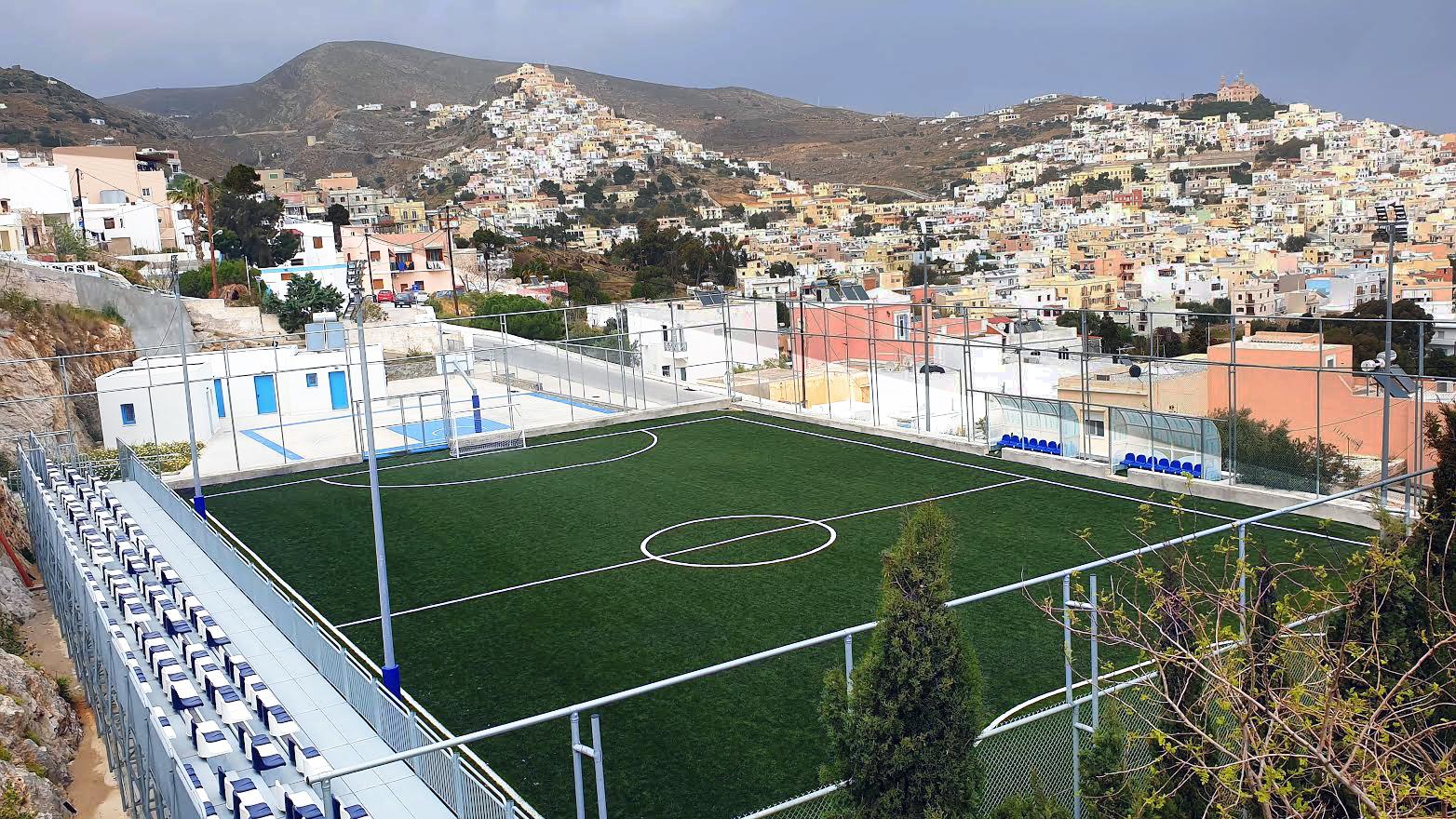 «Η Επόμενη Μέρα του Πολυχώρου Αθλητισμού – Πολιτισμού στα Καμίνια Σύρου»