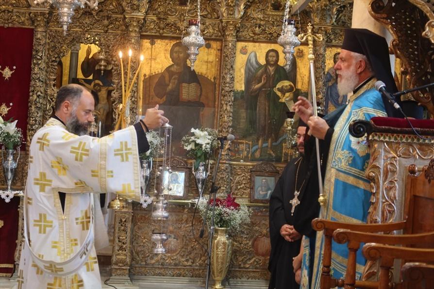 Ανακοίνωση Μητροπολίτη κ.κ. Δωρόθεου Β΄ για την εορτή της Παναγίας Θεοσκέπαστης