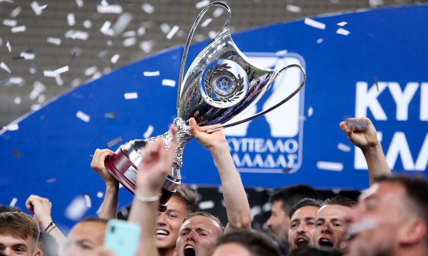 Κύπελλο Ελλάδας: Τροπαιούχος ο ΠΑΟΚ με «μαγικό» φινάλε και γκολ του Κρμέντσικ στο 90΄