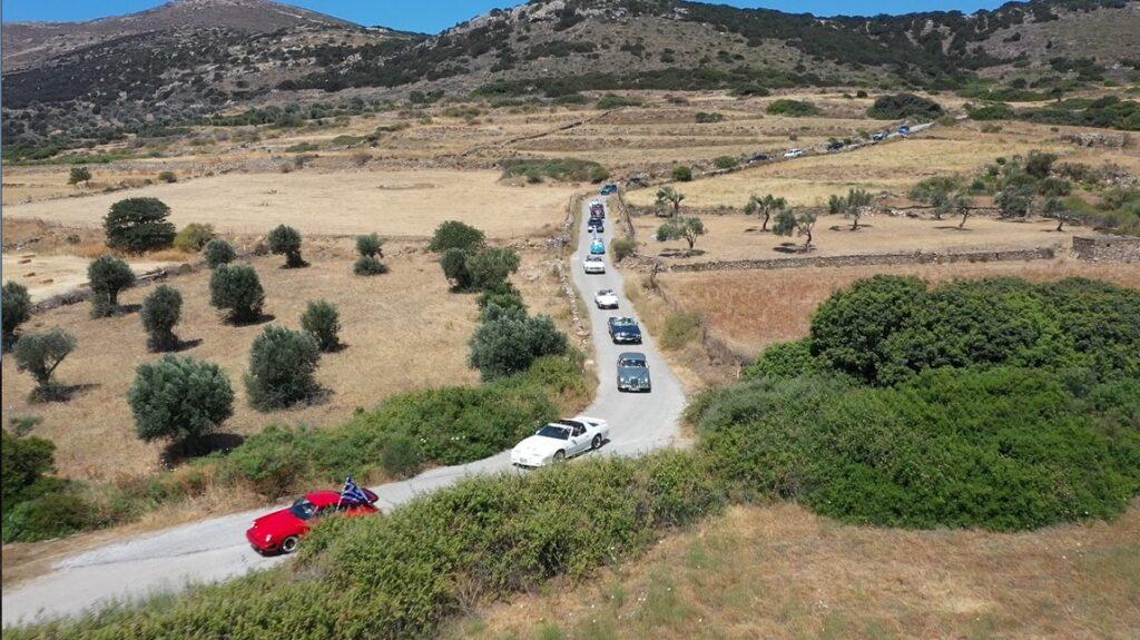 Ταξίδι στη Νάξο με το ράλι ιστορικών αυτοκινήτων του 4ου Food Experience Graviera Naxos 2021!
