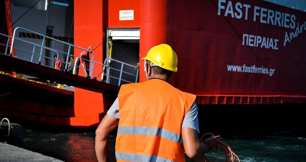Ατύχημα για ναύτη του «Fast Ferries Andros»