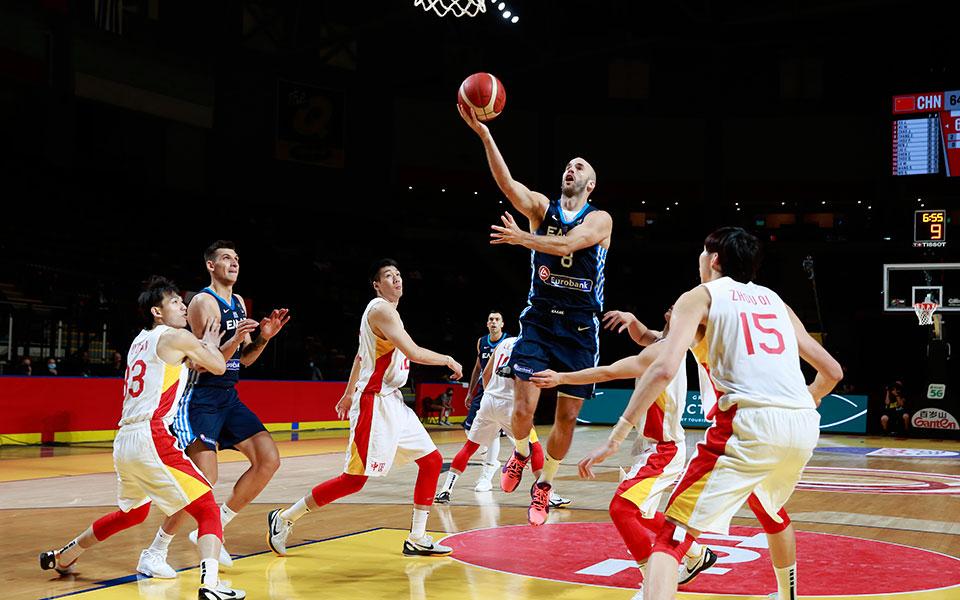 Κίνα – Ελλάδα 80-105: Στα ημιτελικά του Προολυμπιακού η Εθνική