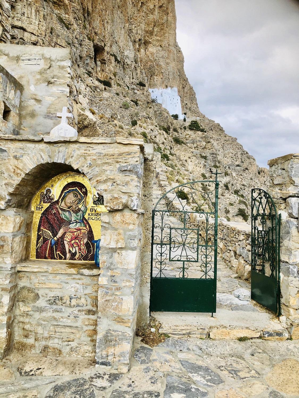 Αμοργός: Ανοίγει για το κοινό το Μοναστήρι της Χοζοβιώτισσας