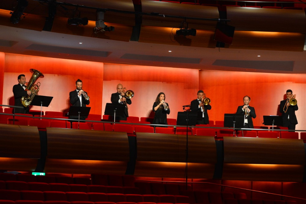 """""""1821-2021 200 χρόνια ελεύθερη Ελλάδα"""" των Συνόλων Πνευστών της Εθνικής Συμφωνικής Ορχήστρας με την Μικτή Χορωδία και τη Φιλαρμονική του ΜΟΥ.Σ.Α."""