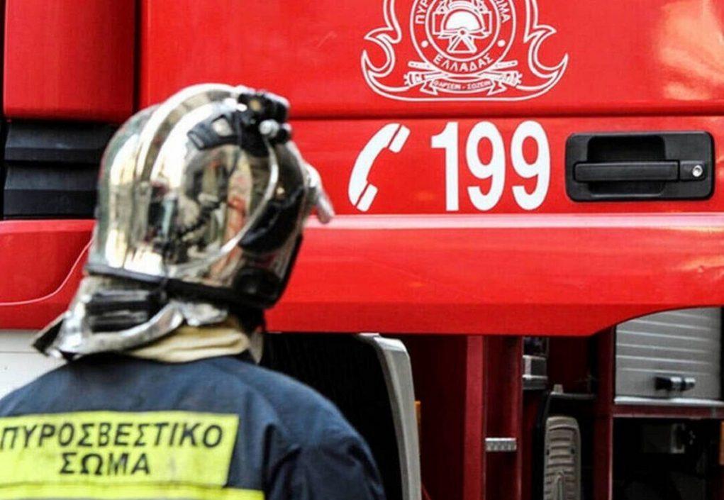 Υπό μερικό έλεγχο η φωτιά στο Ζαγανιάρη