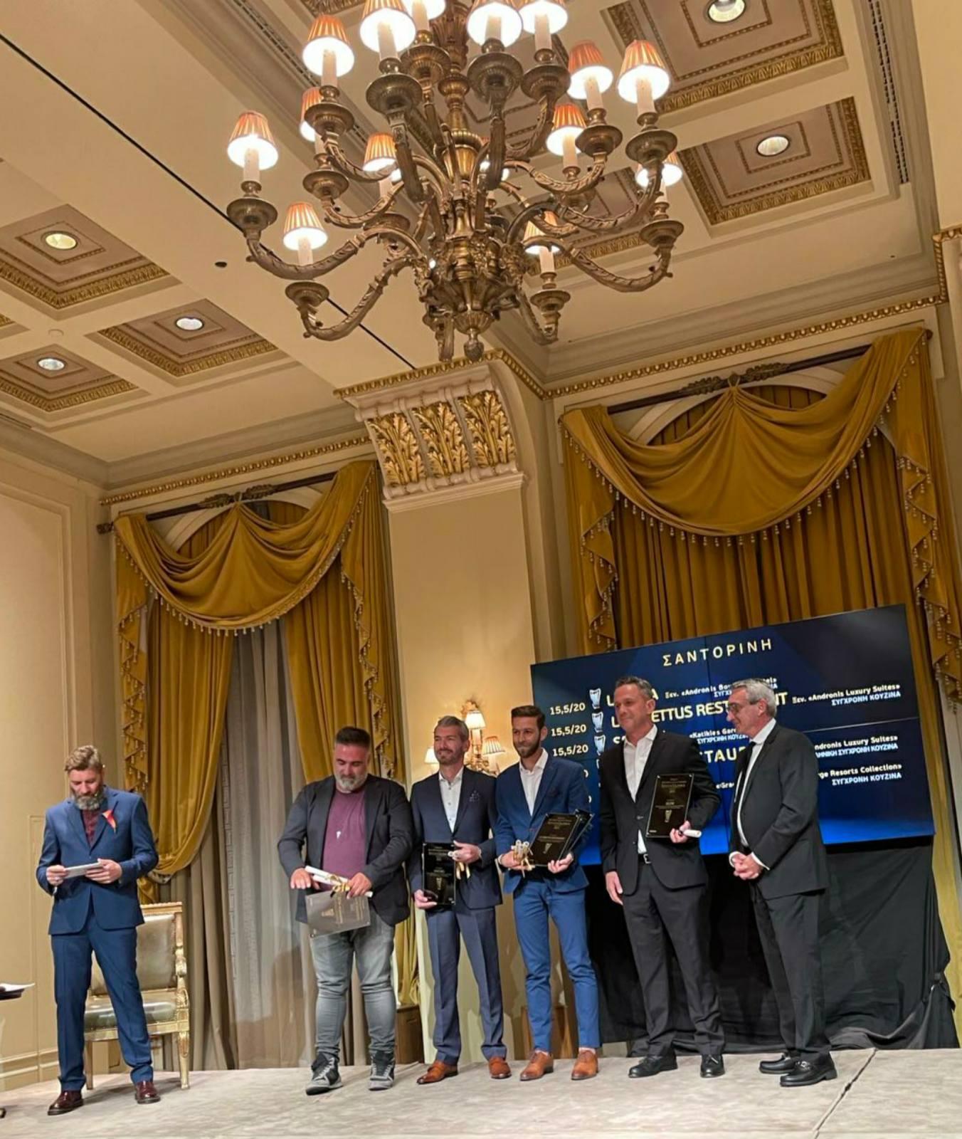 Κυριάρχησαν ξανά τα εστιατόρια του Νοτίου Αιγαίου στην απονομή των Χρυσών Σκούφων 2021