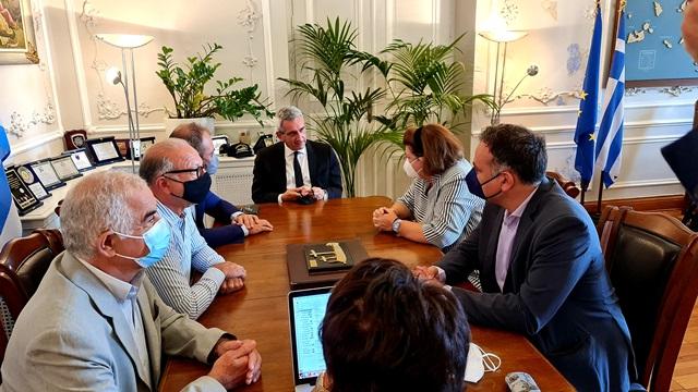 Στη Σύρο η Υπουργός Πολιτισμού & Αθλητισμού κα Λίνα Μενδώνη Ευρεία Σύσκεψη στην Περιφέρεια Νοτίου Αιγαίου