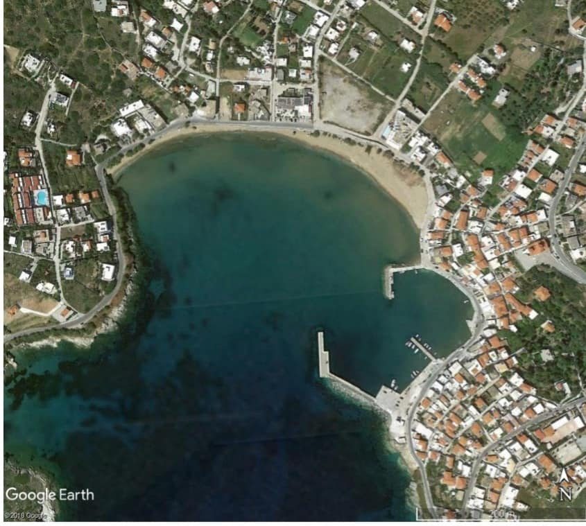 Μελέτες Προστασίας της παραλίας και αξιοποίησης του Τουριστικού Καταφυγίου Μπατσίου
