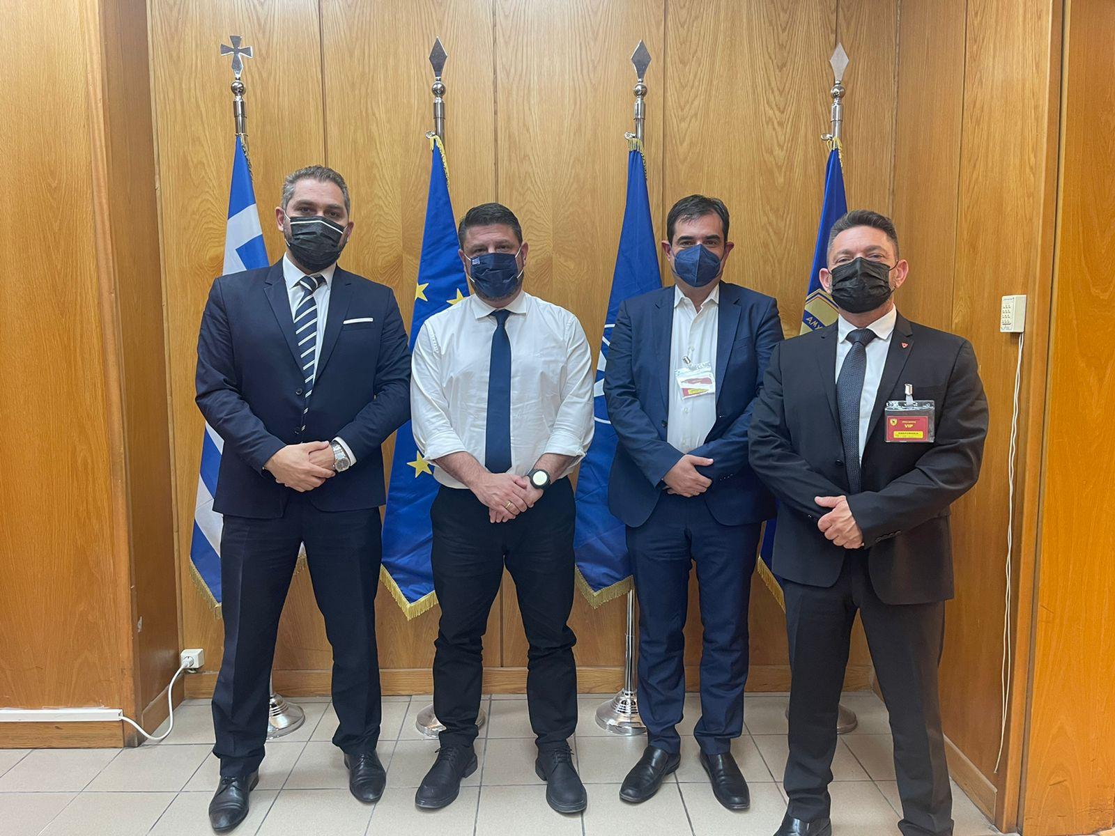 Το Υπουργείο Εθνικής Άμυνας στηρίζει έμπρακτα την ανάπτυξη των Υδροπλάνων. Συνάντηση με την διοίκηση της Hellenic Seaplanes … !