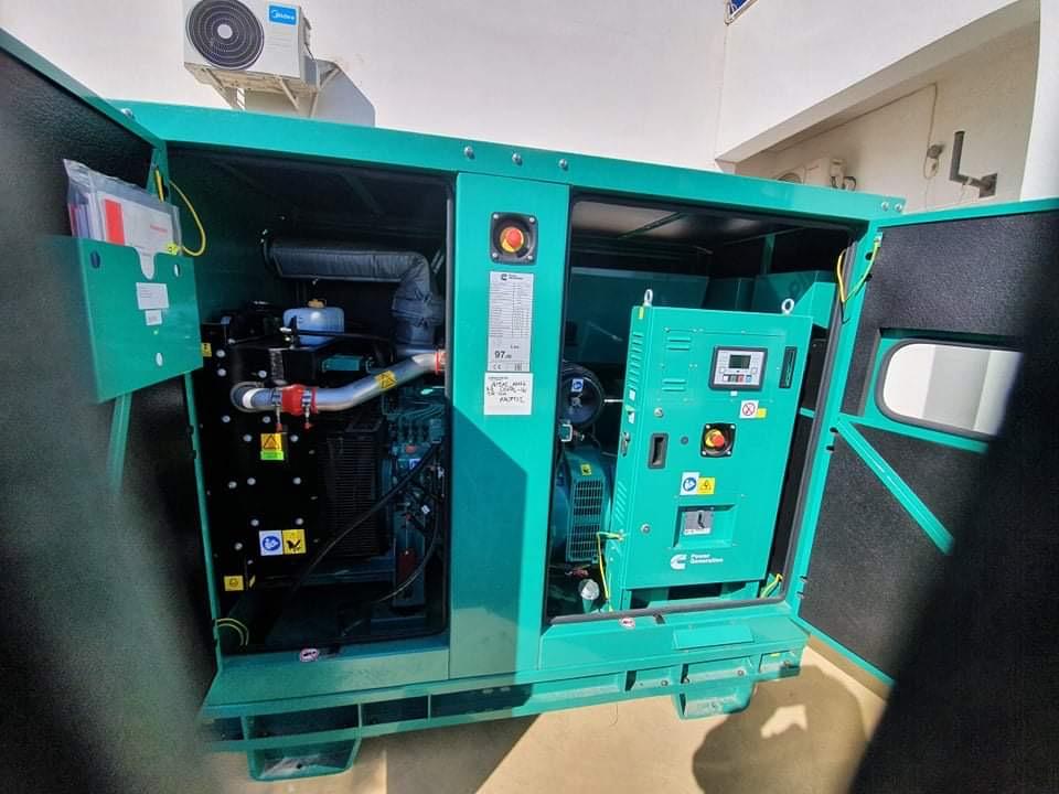 Εγκατάσταση ηλεκτρογεννήτριας στο ΚΥ Αμοργού